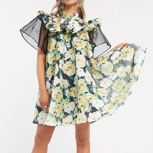 Sister Jane Mini Floral Smock Dress